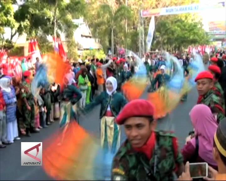 Karnaval Ta'arruf  Muktamar Muhammadiyah