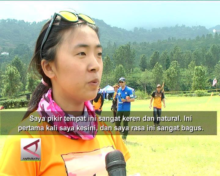 Atlet Asing Kagumi Kawasan Puncak Bogor