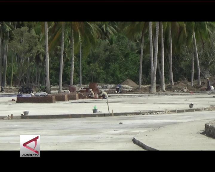 Pembangunan Sail Tomini  Baru 80 Persen