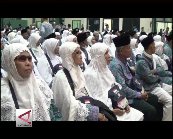 5 Kloter Haji Jambi Berangkat Dari Palembang