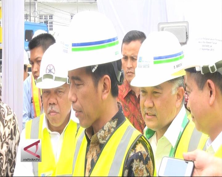 Presiden Puji Ketepatan Pembangunan MRT