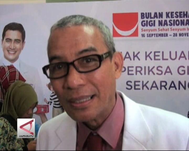 Karies Gigi Di Sulsel Di Atas Persentase Nasional