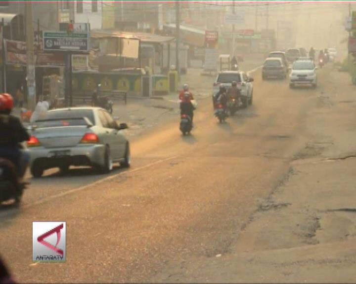 Udara di Riau Membaik, Jambi Menurun