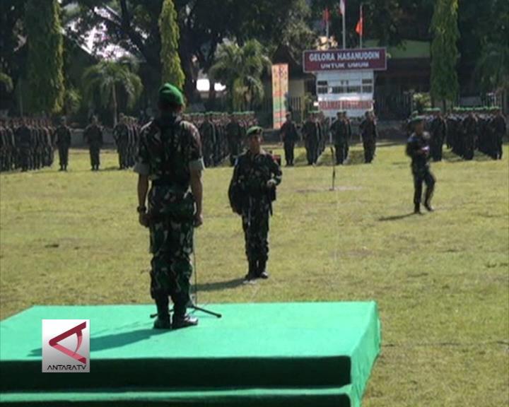 170 Personel Pasukan PBB Dilepas Dari Makassar