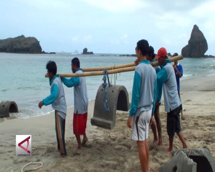 30 Rumah Ikan Ditenggelamkan