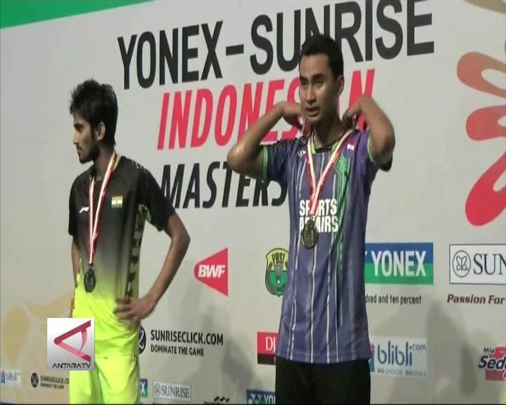 Tim Bulutangkis Indonesia Raih 3 Emas