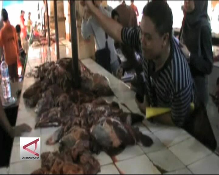 KPPU Sidak Penjualan Daging Sapi dan Ayam