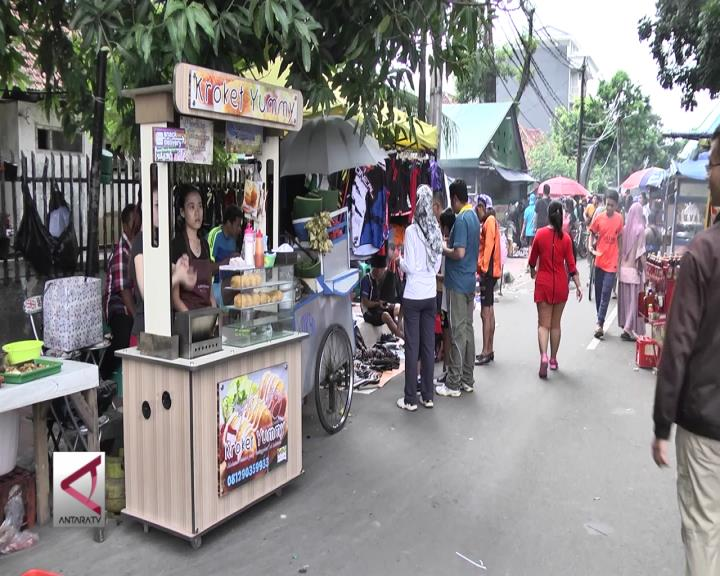 Berburu Kuliner di Arena Car Free Day