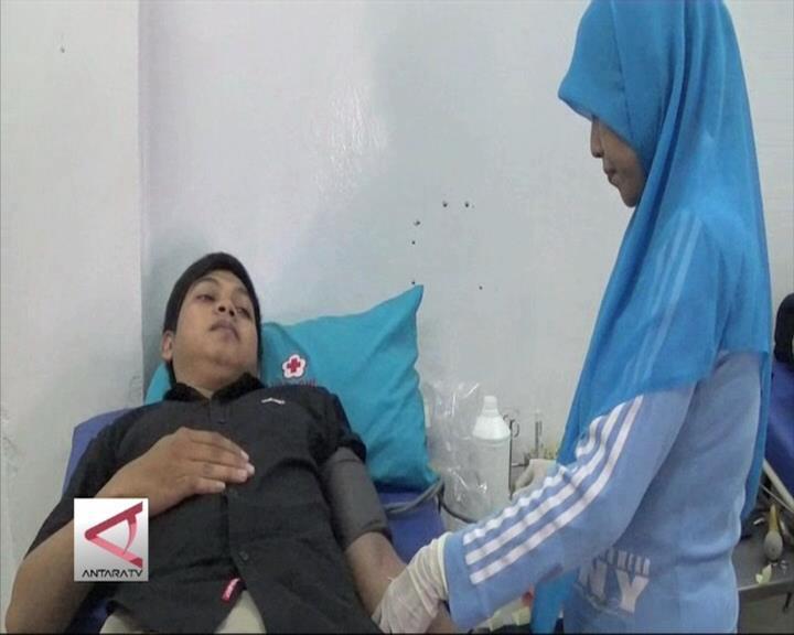 PMI Sulteng Gencarkan Aksi Donor Darah