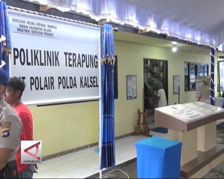 Klinik Terapung Untuk Warga Pesisir Sungai di Kalsel