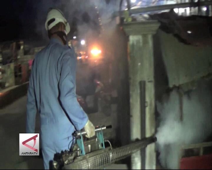 Dinkes Jayapura Foging Basmi Nyamuk