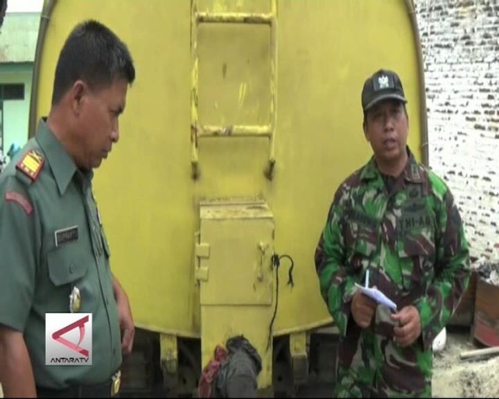 Kodim di Lampung Gagalkan Penyelundupan Minyak