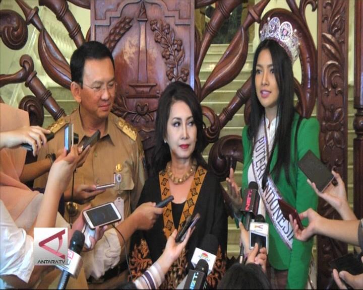 Gubernur DKI Terima Finalis Puteri Indonesia