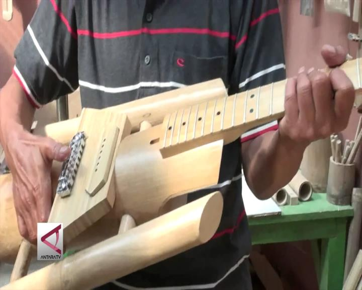 Mengenal Alat Musik dari Bambu
