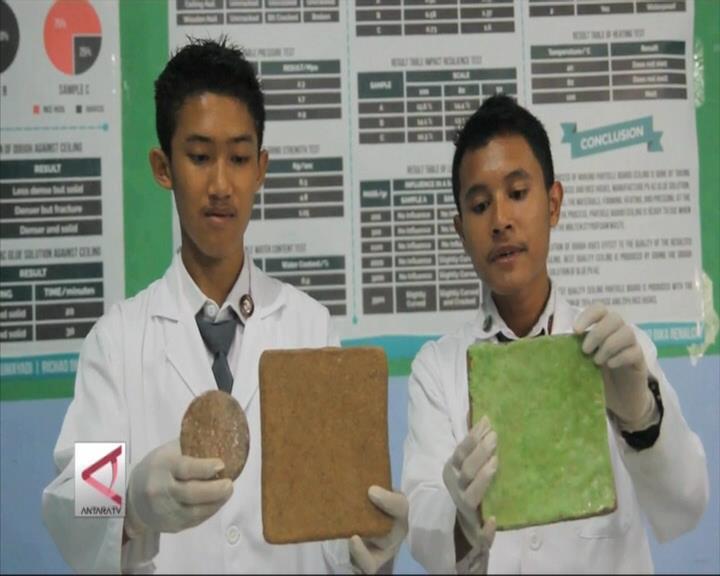 Plafon Antibocor Karya Pelajar Sumsel