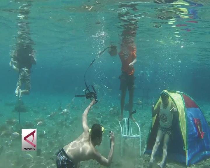 Fotografi Bawah Air di Umbul Ponggok
