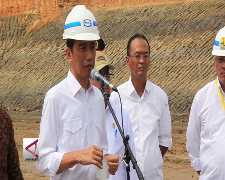 Presiden Tinjau Proyek Tol Balikpapan - Samarinda