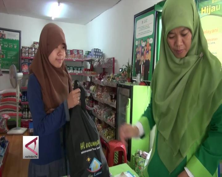 Minimarket Ecomart Untuk Transaksi Sampah
