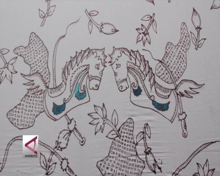 Motif Jaranan Menjadi Batik Khas Kediri