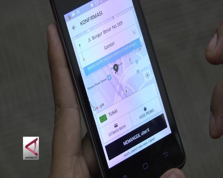Masa Transisi Taksi Berbasis Aplikasi