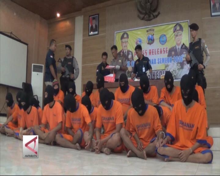 Polisi Kediri Amankan 26 Pengedar Narkoba