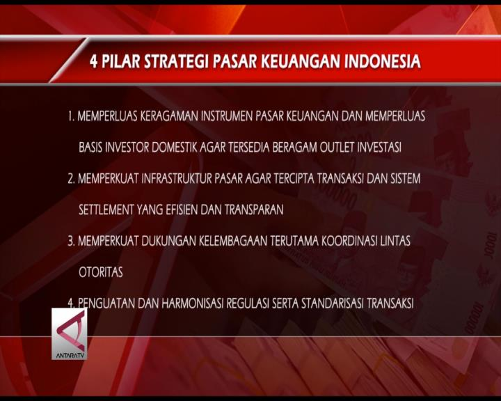 4 Pilar Strategi Pasar Keuangan RI