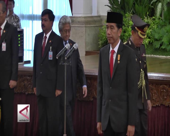 Presiden Hadiri Pengucapan Sumpah Wakil Ketua MA