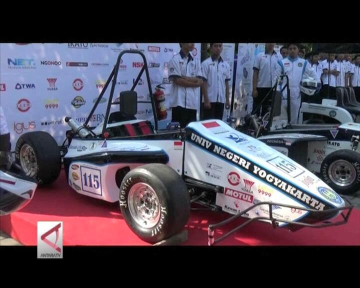 UNY Luncurkan Mobil Balap Garuda Hybrid 16