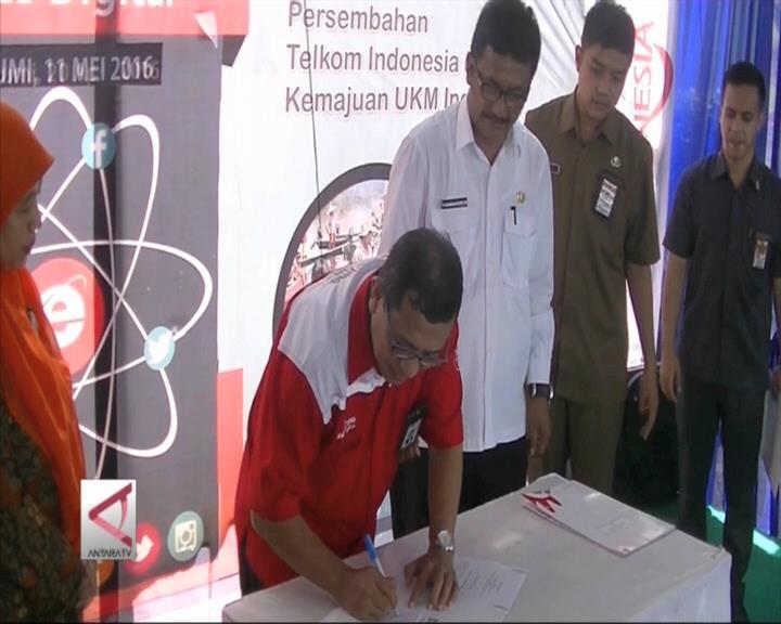 Sukabumi Jadi Inisiator Kampung UKM Digital