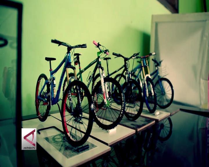 Miniatur Sepeda Dipesan Peminat Mancanegara
