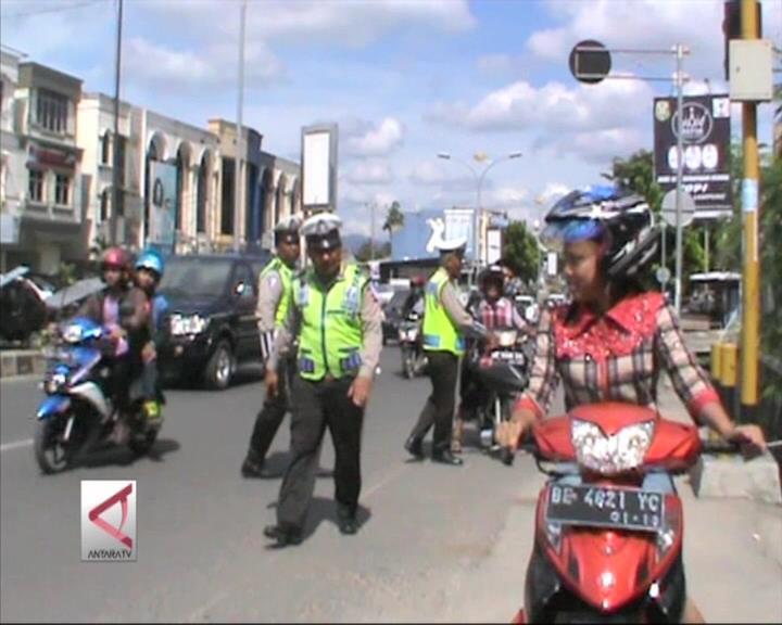1.300 Polisi Tertibkan Pelanggar Lalin