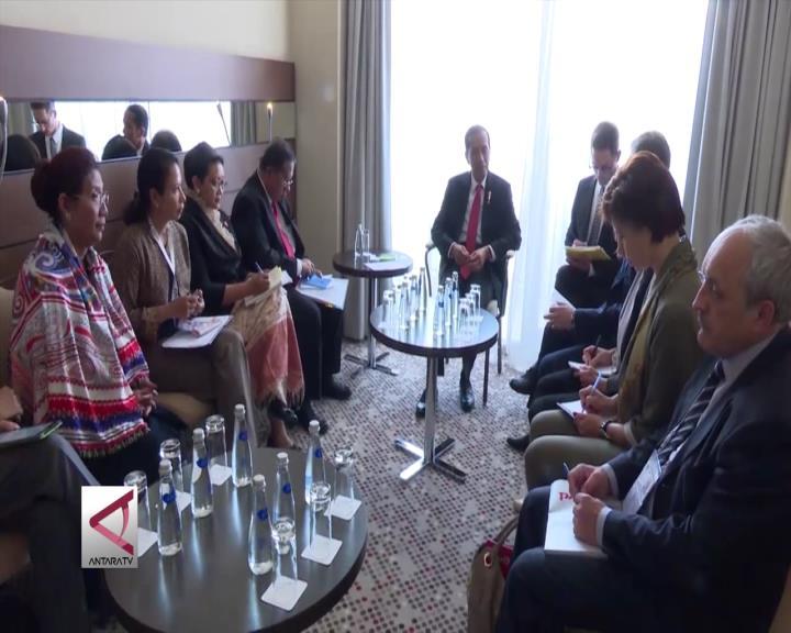Presiden Jajaki Kerja Sama Dengan 4 CEO Rusia