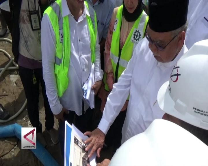 Kemajuan Pembangunan Masjid Baiturahman Diapresiasi