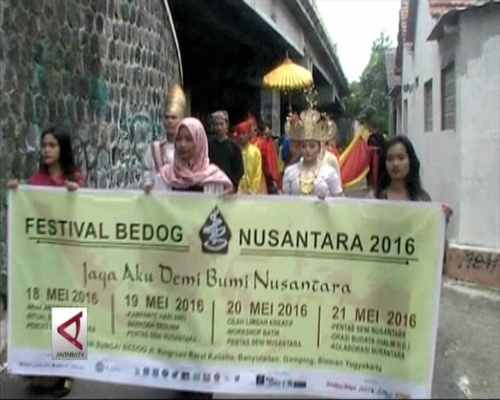 Festival Bedog Nusantara untuk  Persatuan dan Lingkungan