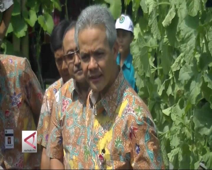 Ganjar Pranowo Buka Soropadan Agro Expo 2016