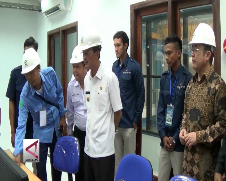 Listrik Mulai Mengalir dari PLTMG Sematang Borang