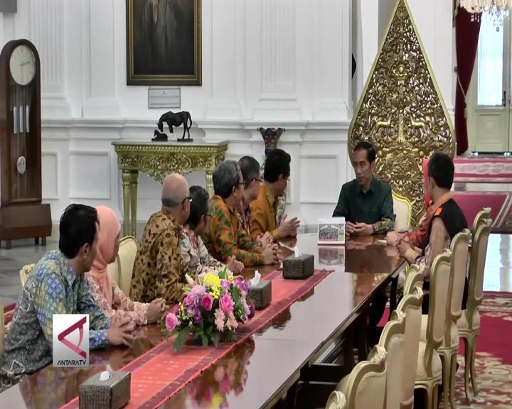 Tim Sensus Ekonomi Kunjungi Presiden