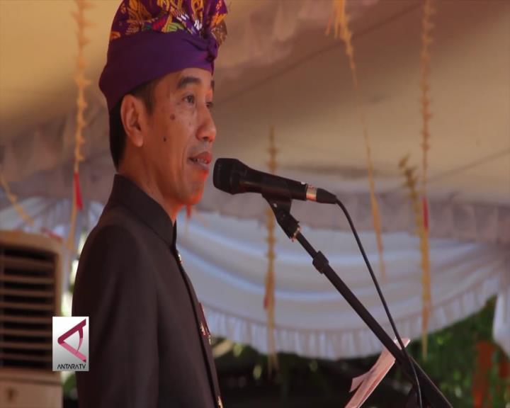 Presiden: Bukan Semata Pesta Kesenian Bali