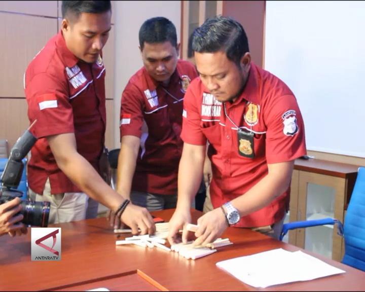 Polda Lampung OTT Penjualan Gading Ilegal