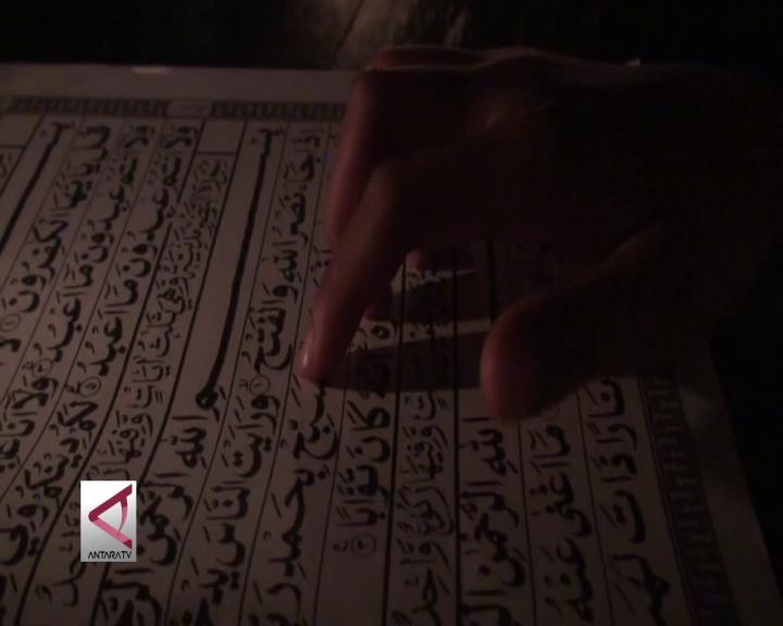 Peringati Nuzulul Quran di Kegelapan