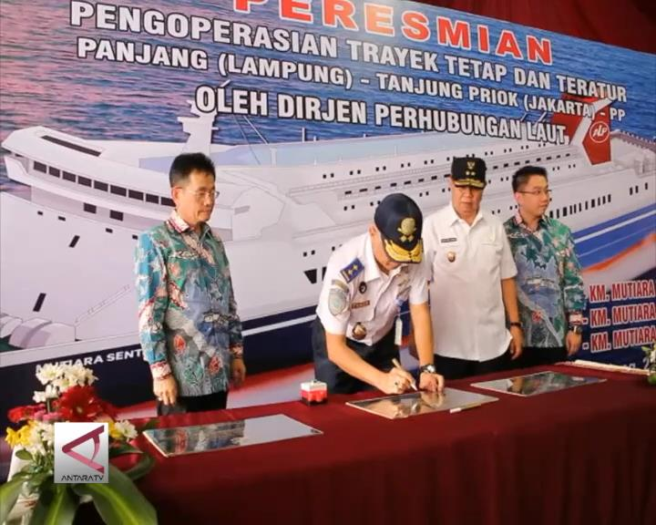 Tol Laut Tanjung Priok-Lampung Resmi Dibuka