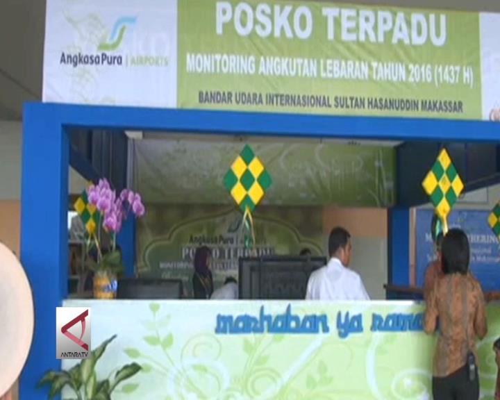 Bandara Hasanuddin Operasikan Posko Terpadu