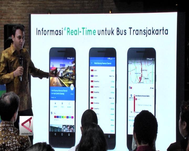 Fitur Baru Google Maps Untuk Pengguna Transjakarta