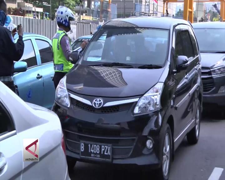 Hari Pertama Uji Coba, Kemacetan Berkurang