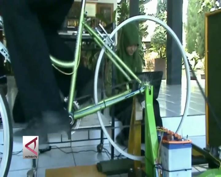 Siswa SMA Purworejo Ciptakan Sepeda Penghasil Listrik