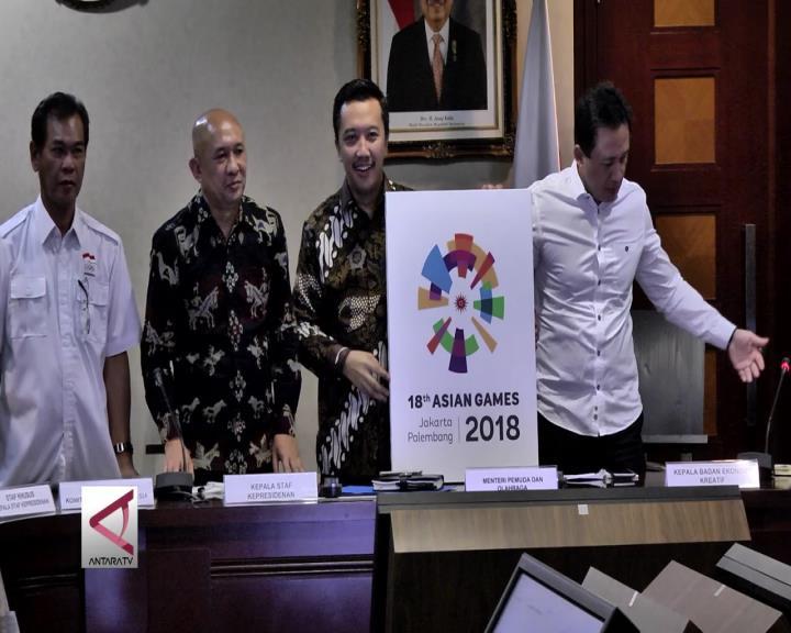 Pemerintah Rilis Ulang Logo Asian Games