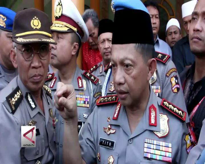Kepolisian Indonesia Gagalkan Serangan Teror