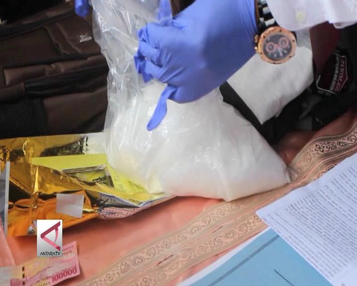 BNN Lampung Gagalkan Peredaran Narkotika