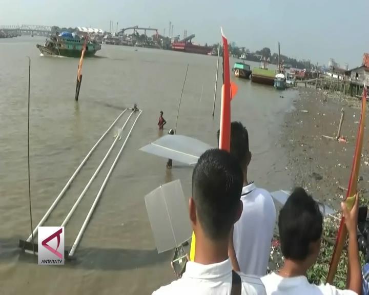 Menghidupkan Kembali Perahu Bidar Mini Layar