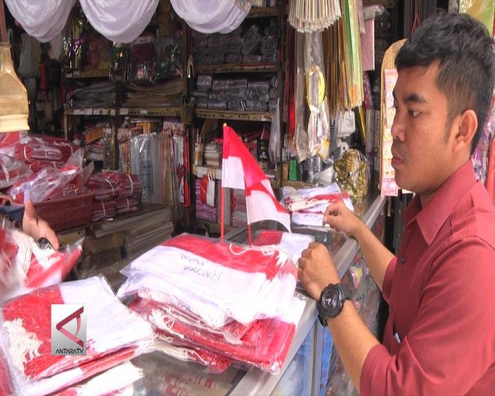 Penjualan Pernak Pernik Kemerdekaan  Menurun